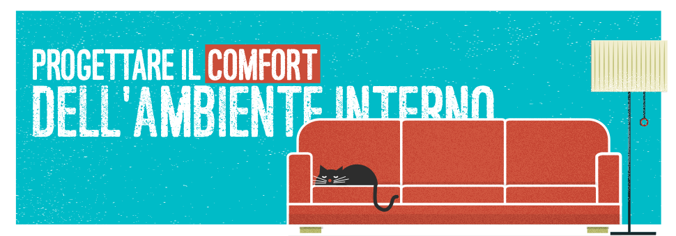 Corso progettare il comfort dell 39 ambiente interno qualit for Progettare un interno